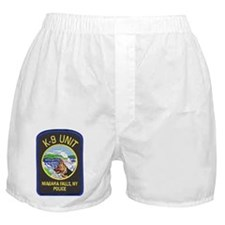 Niagara Falls Police K9 Boxer Shorts