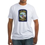 Niagara Falls Police K9 Fitted T-Shirt
