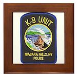 Niagara Falls Police K9 Framed Tile