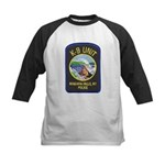 Niagara Falls Police K9 Kids Baseball Jersey
