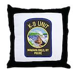 Niagara Falls Police K9 Throw Pillow
