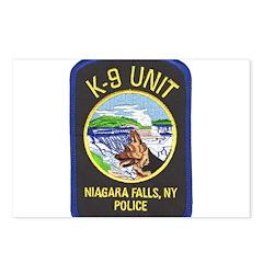 Niagara Falls Police K9 Postcards (Package of 8)