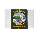 Niagara Falls Police K9 Rectangle Magnet (100 pack