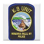 Niagara Falls Police K9 Tile Coaster