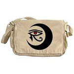 LunaSees Heart Logo Messenger Bag