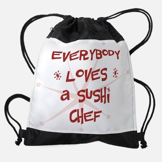 wg427_A-Sushi-Chef.png Drawstring Bag