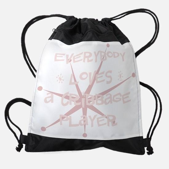 bg106_A-Cribbage-Player.png Drawstring Bag
