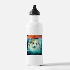 Corgi on the Water Water Bottle