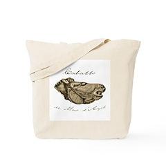 Caballo du Mas d'Azil Paleolithic Horse Tote Bag