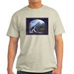 Celtic Maiden Awaits Ash Grey T-Shirt