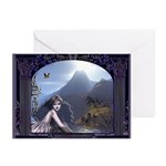 Celtic Maiden Awaits Greeting Cards (Pk of 10)