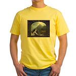 Celtic Maiden Awaits Yellow T-Shirt