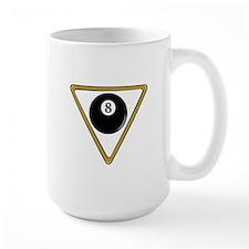 Eight Ball and Rack Mug