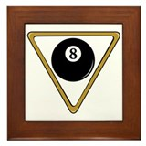 Billiard gifts Framed Tiles