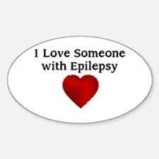 I love someone with epilepsy Decal