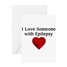 I love someone with epilepsy Greeting Card