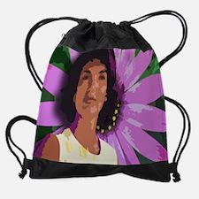 jackie daisymousepad.jpg Drawstring Bag