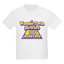 Super Hero Twins Kids T-Shirt