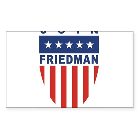 Join Kinky Friedman Rectangle Sticker