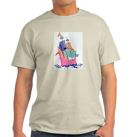 Mayflower Colors Ash Grey T-Shirt
