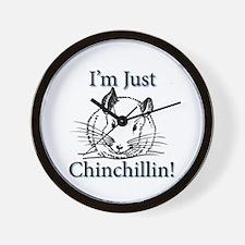 Unique Chinchilla Wall Clock