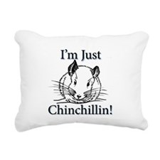 Chinchillas Rectangular Canvas Pillow