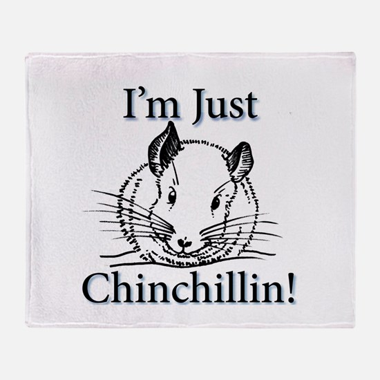 Unique Chinchilla Throw Blanket