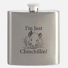 Cute Chinchilla Flask