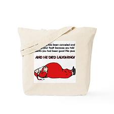 Christmas Is Cancelled Joke Tote Bag