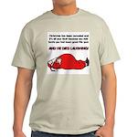 Christmas Is Cancelled Joke Light T-Shirt