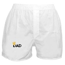 Dad with Crown Boxer Shorts