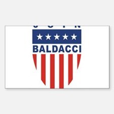 Join John Baldacci Rectangle Decal