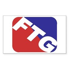 FTG Rectangle Decal