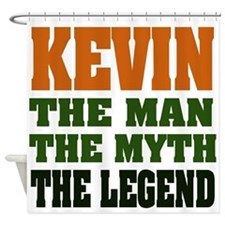 Kevin The Legend Shower Curtain