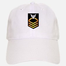 Navy - CPO - Rank - Gold Baseball Baseball Cap