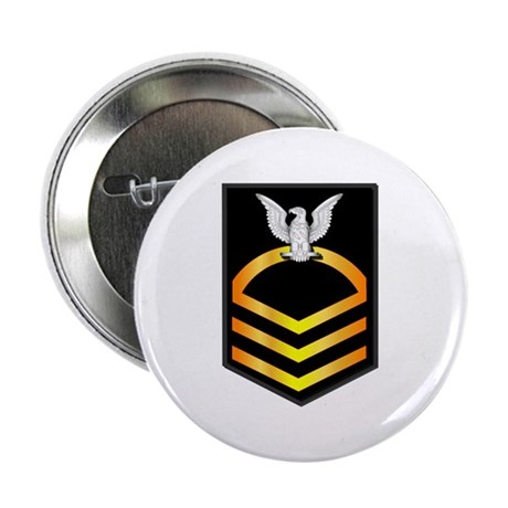 "Navy - CPO - Rank - Gold 2.25"" Button (10 pack)"