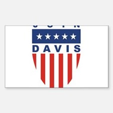 Join Jim Davis Rectangle Decal