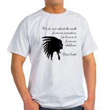 Chief Seattle Quote T-Shirt
