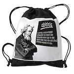 obititis2mousepad.png Drawstring Bag