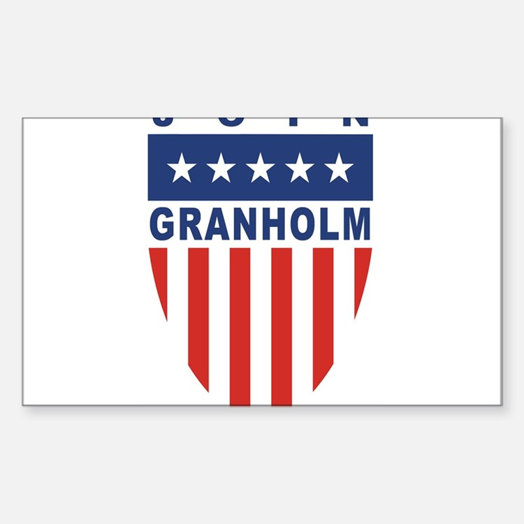 Join Jennifer Granholm Rectangle Decal