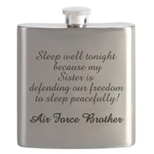 AF Brother Sleep Well Sis Flask