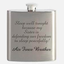 AF Brother Sleep Well Sis Flask