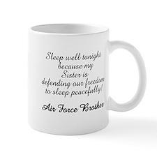 AF Brother Sleep Well Sis Mug