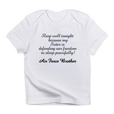 AF Brother Sleep Well Sis Infant T-Shirt