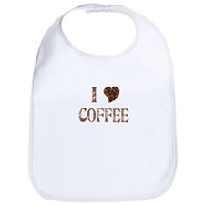 I (heart) COFFEE Bib