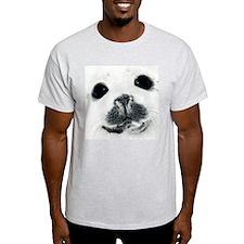 Harp Seal 3 Ash Grey T-Shirt
