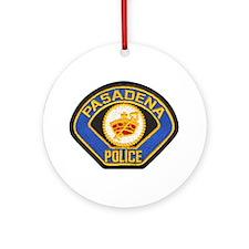 Pasadena Police Ornament (Round)