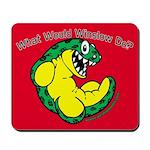 W.W.W.D. Mousepad