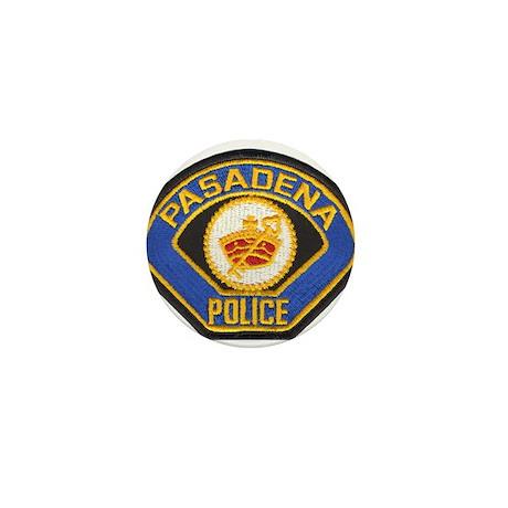 Pasadena Police Mini Button