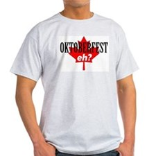 Elsinore Oktoberfest 2 Sided Ash Grey T-Shirt